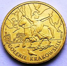 POLAND - CRACOW 4 KRAKI 2010 KNIGHT ON HORSE HORSE & RIDER - DOVE PIGEON UNC