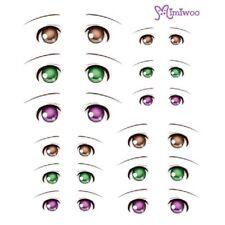 Parabox Obitsu 1/6 bjd Doll Dollfie Head Deco Eye Decal Sticker 07 (12 Pairs)
