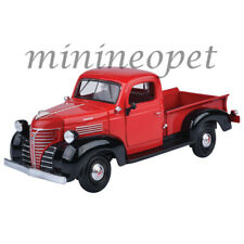MOTORMAX 73278 1941 PLYMOUTH PICK UP TRUCK 1/24 DIECAST MODEL CAR RED