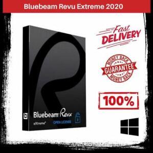 Bluebeam Revu Extreme v20 (2020) Multilingual ✅ Full Version Lifetime Win 64 ✅.