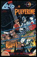 Loco vs Pulverine One-Shot Comic Eclipse Parody DC Lobo versus Marvel Wolverine