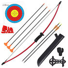 36.5'' Youth Recurve Bow and Arrow Set Children Junior Archery Training for Kid