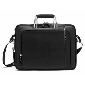 TUMI Arrivé Hannover Laptop Slim Brief Briefcase Black  $795