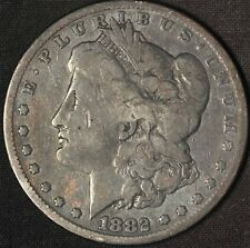 1882 Morgan Silver Dollar - Free Shipping USA