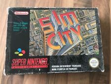 Super Nes :      SIM CITY     en boite          Super Nintendo