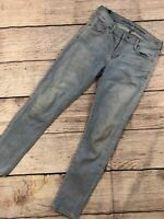 Womens 25 Citizens Of Humanity Avedon Ankle Skinny Jeans Light Wash