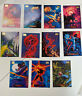 1994 Marvel Masterpieces Gold Foil Signature Series Lot of 11 Spider-man Gambit