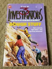 The 3 Three Investigators Crimebusters #3 Rough Stuff G H Stone 1990 Pb Borzoi
