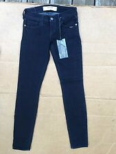 Abercrombie & Fitch 'The A&F Jegging' Dark BLUE PERFECT STRETCH SIZE 00 W24