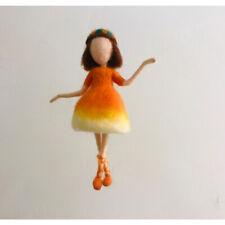 Needle Felting Kit Fairy 15cm Height Christmas Gift Craft Kits Video Description