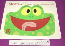 TARGET GLOW IN THE DARK GIFT CARD 2008 GREEN FROG NO VALUE COLLECTIBLE NEW