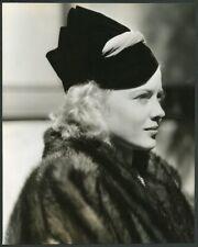 MARY CARLISLE Original Vintage 1937 PARAMOUNT FASHION PORTRAIT Photo by WALLING