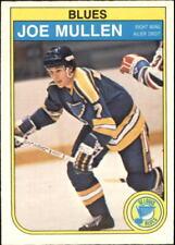 1982-83 O-Pee-Chee Blues Hockey Card #307 Joe Mullen RC