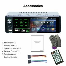 4.1 inch 1 Din HD Car MP5 Player Radio BT Touch Screen Audio Stereo AM/FM/RDS