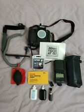 Nikon F5 Body Film Camera Near Mint - Black w/ Many Accessories Package Bundle
