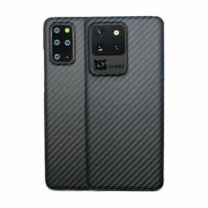 For Samsung Galaxy S20 Ultra S10 S9 S8+ 100% Real Carbon Fiber Phone Case Cover
