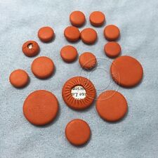 10 set Excellent clarinet pads leather great material orange color