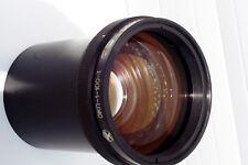 OKP 1.8/100 Biotar type fast Soviet projector portrait lens by MMZ Minsk BelOMO