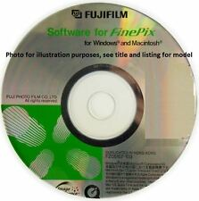 Fujifilm Finepix Fuji HS10 Software CD & Owners Manual on CD
