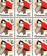 1977 - CHRISTMAS MAILBOX - #1730 Full Mint -MNH- Sheet of 100 Postage Stamps