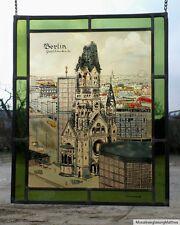 """Bleiverglasung Fensterbild Bernhardt Glasmalerei """"Berlin Gedächtniskirche """""""