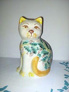 Gattino in ceramica Caltagirone
