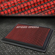 FOR SUPER DUTY/EXPEDITION RED REUSABLE/WASHABLE DROP IN AIR FILTER PANEL