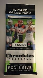 2020 PANINI CHRONICLES NFL Retail VALUE CELLO FAT PACK (15 Cards) Herbert Prizm?