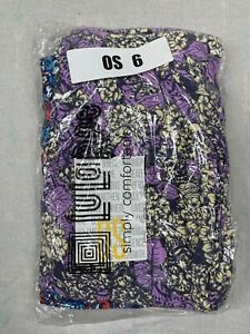 2 Pair One Size LuLaRoe Leggings OS 6