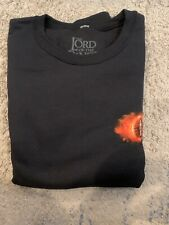 Loot Crate Lord Of The Rings Mordor Fleece Sweatshirt New Size 2Xl