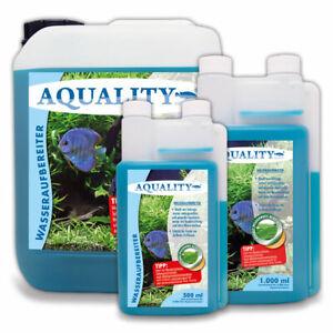 (13,98€/l) AQUALITY Aquarium Wasseraufbereiter mit Aloe Vera und Vitamin B