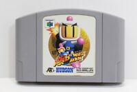 Baku Bomberman N64 NINTENDO 64 Japan Import US Seller E565