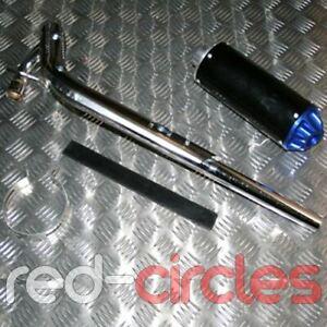 BLUE PIT BIKE PERFORMANCE CNC EXHAUST PIPE SYSTEM 90cc 110cc 125cc PITBIKE