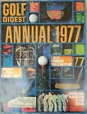 Golf Digest Magazine Annual (February, 1977) PGA, LPGA 1,000 Courses