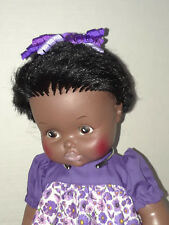"Vintage 1971 14"" Ethnic EeGee Softina Drink and Wet Girl Doll"