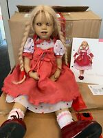 Annette Himstedt Puppe Grete 60 cm.Top Zustand