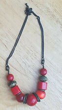 NEXT Red Beaded Necklace