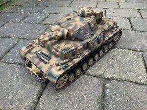 RC Panzer 1/16 Panzer IV F1 Rauch&Sound 6 mm BB  Heng Long