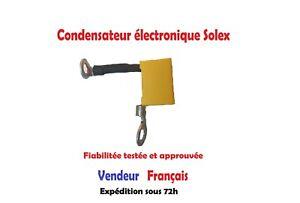 Condensateur électronique Solex prêt à l'emploi