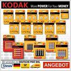 Kodak Batterien AA AAA Lithium Knopfzellen CR1025   CR2450  LR44 R03 R06
