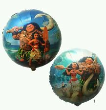 3 pcs Moana Helium Foil Balloons Birthday Party Decoration USA Seller Fast Ship