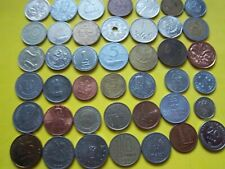 New Listing40 Worldwide Coins From 40 Countries [# 688 ] Nice Gift/Educational Lot