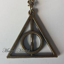 Amicizia collana bronzo mortale doni di morte. magica. Dumbledore/Hermione/Harry