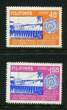 Philippines 1260-1261,MNH.Michel 1139A-1140A. Commission on Irrigation.Dam,1975.