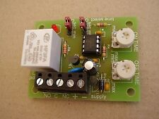 Cyclic (pulsing) Timer relay board , adjustable 0-60 secs or 0-60 mins