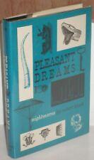 ~PLEASANT DREAMS - NIGHTMARES by ROBERT BLOCH~1960 Arkham House HB/DJ SIGNED!
