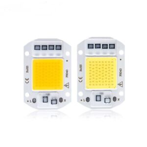 20W 30W 50W LED Floodlight COB Chip 110V/ 220V Input Integrated Smart IC Driver