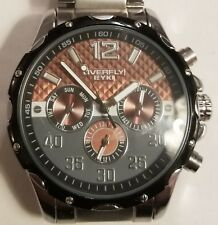 Overfly by EYKI mens quartz watch. In excellent condition. Runs great.