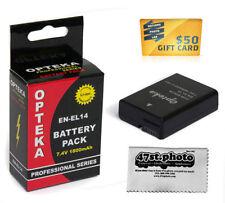 Baterías Nikon para cámaras de vídeo y fotográficas