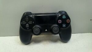 """Official Genuine Sony PS4 V2 Black Wireless Controller (1) """"faulty"""" 123907"""